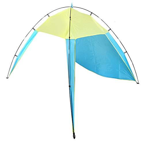 FOLOSAFENAR Tienda al Aire Libre fácil de almacenar Tienda de la sombrilla, Camping al Aire Libre(Blue, Double)