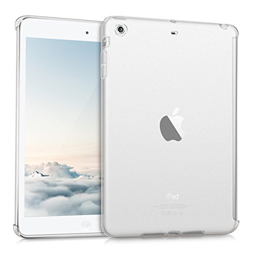 kwmobile Hülle kompatibel mit Apple iPad Mini 2 / iPad Mini 3 - Tablet Cover - Tab Case Silikon Schutzhülle in Matt Transparent