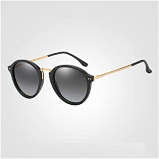 ZMP Teardrop Shape Ultra Light Metal Hybrid Polarized UV400 Sunglasses Trend Outdoor Sunglasses (Color : Gold2)