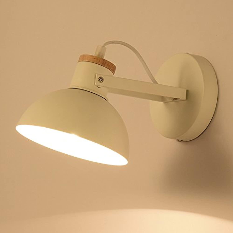 StiefelU LED Wandleuchte nach oben und unten Wandleuchten Holz ist ein Road Hotel Balkon Schlafzimmer Nachttischlampe Wohnzimmer Wand Lampen, D, 25,5  16,5 cm