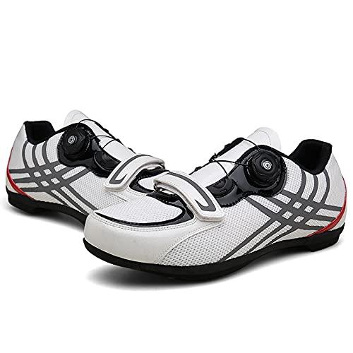 Calzado De Ciclismo para Bicicleta De Carretera para Hombre Calzado De Bicicleta De Montaña Sin Candados No Compatible con Tacos