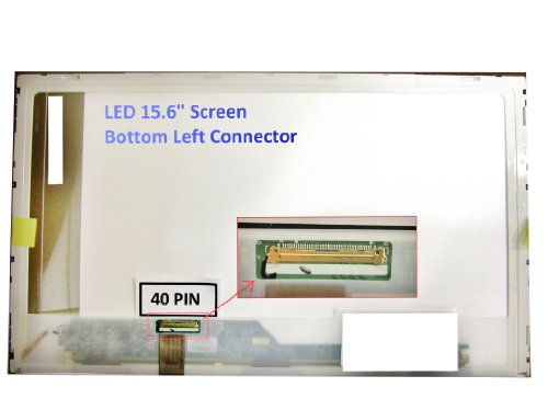 TOSHIBA SATELLITE PRO C650 Laptop Screen 15.6 LED BOTTOM LEFT WXGA HD 1366x768