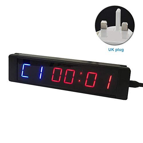 Xiegons0 6 Dígitos LED Cuenta Regresiva/hasta Reloj