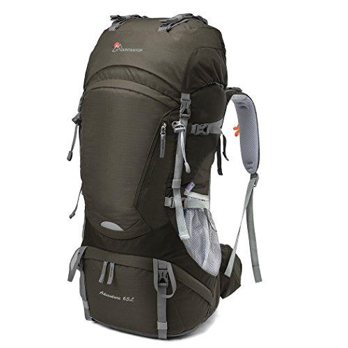 2. Mountaintop Adventure 65L - Gran capacidad, y gran comodidad