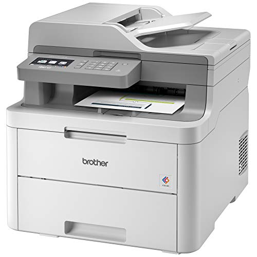 Brother MFC-L3710CW Compact Digital Color All-in-One Printer Providing Laser Printer Quality Results with Wireless, Amazon Dash Replenishment Enabled