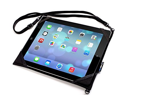 HighView iPad hanger for iPad Air- hangs anywhere (car headrest, airplane seat, bus, train, stroller, gym, kitchen) and gives clean water to children in need. Tablet travel accessory gadget case mount