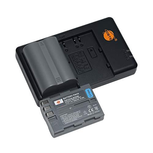 EN-EL3E EN EL3 (2 unidades) batería recargable y cargador dual compatible con...