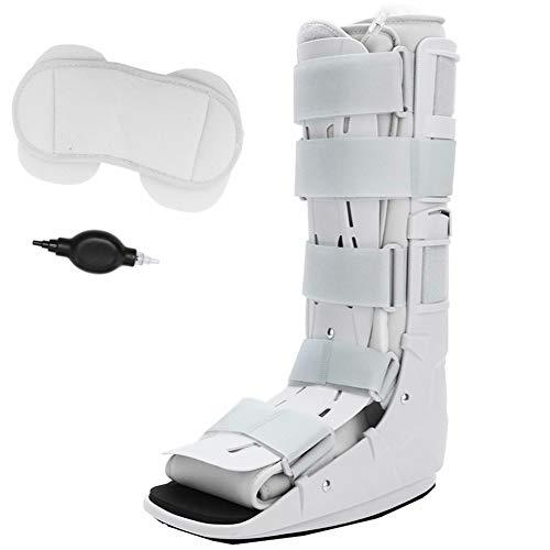 Avanzado Botas para caminar Tobillo destinado a fracturas del pie Esguince severo de tobillo Lesiones de tejidos blandos Lesiones en la parte delantera y media del pie con relleno (L)