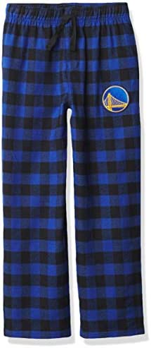 Ultra Game NBA Golden State Warriors Youth Sleepwear Super Soft Flannel Pajama Loungewear Pants product image