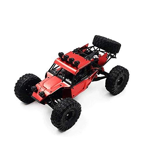 1/12 cepillado de motor de alta velocidad de ascenso de Neumáticos Gran Monster Truck RC, 2.4G todo terreno antideslizante Damping Off-road coche de RC, del cumpleaños del niño de control remoto de co