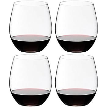 Riedel O Wine Tumbler Cabernet/Merlot, Set of 4, Clear -