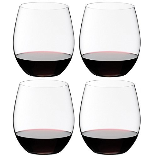 Riedel O Wine Tumbler Cabernet/Merlot, Set of 4, Clear - 7414/0