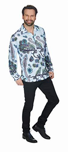 Andrea Moden - Retro-Style Hemd, Hippie, Bad Taste Party, Mottoparty, Karneval
