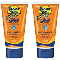 2-Pack Banana Boat Sport Performance Sunscreen Lotion SPF 30 3 Oz