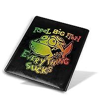TONIY Reel Big Fish 'Everything Sucks リール・ビッグ・フィッシュ ノートカバー ブックカバー 本カバー 文庫本カバー A5 皮革 Puレザー おしゃれ 人気柄 個性 子供 大人 読書 資料 雑貨 収納入れ メモ帳カバー プレゼント 贈り物