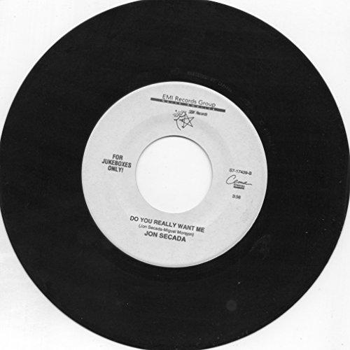 JON SECADA 45 RPM I'M FREE / DO YOU REALLY WANT ME