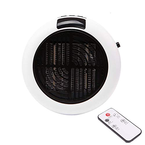 1000W Mini Heater Small Plug-In Heater for Home, Office Or Travel/Low Energy Consumption/High Efficiency/Fast Heating Room,White