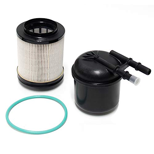 Wisamic 6.7L Fuel Filter Water Separator Kit Compatible with Ford F-250 F-350 F-450 F-550 Super Duty 2011-2016 6.7 V8 Diesel EngInes Powerstroke, 5 Micron, Replace FD-4615 BC3Z-9N184-B
