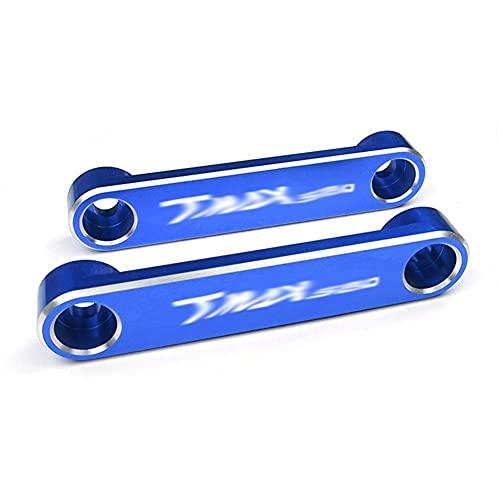 Accessori/Adatta per - Y-AMA-HA T Max TMAX 560 Techmax 2020 Tmax560 Tech Max Moto Assale Anteriore Assale Coperchio Lato Piatto Coperchio Decorativo (Color : Tmax560 Blue)