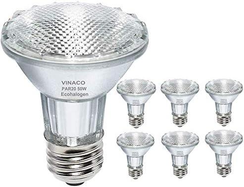 Par20 Bulbs 6 Pack 120V 50W Selling rankings Cheap SALE Start Flood Light Medium E26