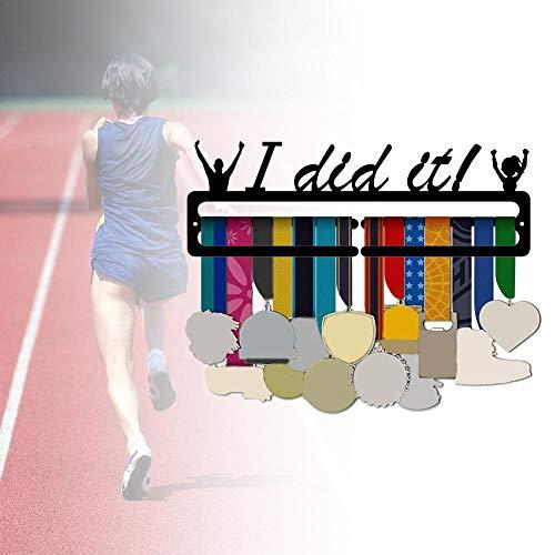chinejaper Medaillenständer Wandmontage-Medaillenständer für die Aufbewahrung von Medaillen zu Hause
