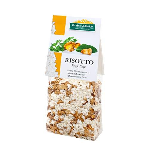 Dr. Ana Collection - Risotto Reis mit Pfifferlingen 200g (5 Beutel) - auch erhältlich als 1 bis 7 Beutel