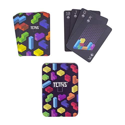 Paladone- Juego de Cartas, Multicolor (Tetris Lenticular Playing Cards) , color/modelo surtido