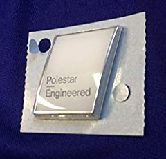 Genuine Volvo Polestar Badge Kit Comes with White badge Easily applied to your Volvo