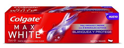 Colgate Max White Protege Y Blanquea Pasta Dentifricia - 75 ml