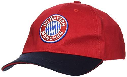Unbekannt Unisex FC Bayern München Baseballkappe, Basecap, Individuell einstellbar
