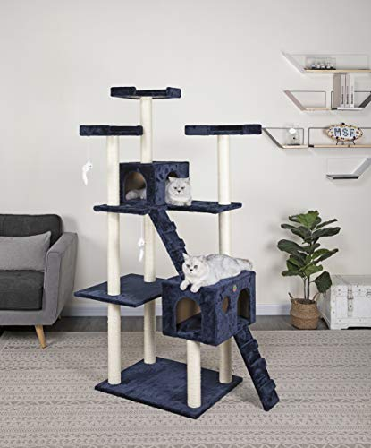 large platform cat tree by Go Pet Club