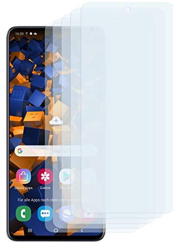 mumbi Schutzfolie kompatibel mit Samsung Galaxy A51 Folie klar, Displayschutzfolie (5x)