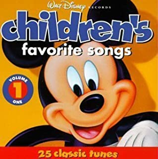 Walt Disney Records : Children's Favorite Songs, Vol. 1 : 25 Classic Tunes by Various Artists (1991) Audio CD