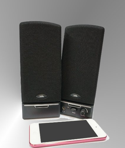 Cyber Acoustics CA-2014 multimedia desktop computer speakers