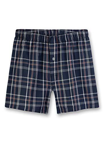 Sanetta Jungen Woven Shorts Boxershorts, Blau (blau 5961), (Herstellergröße:188)