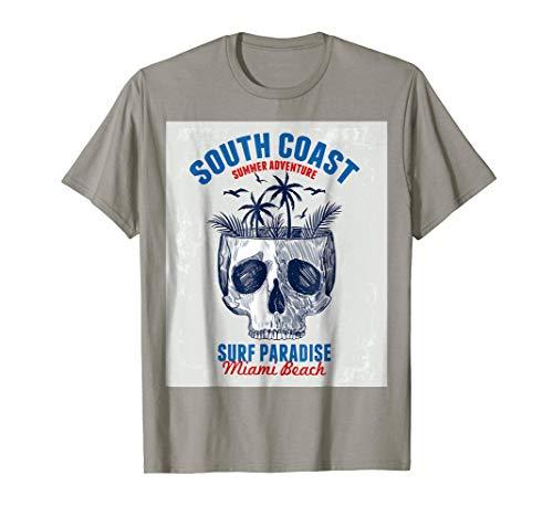 T-Shirt Miami Beach Paradise Coast Men Women