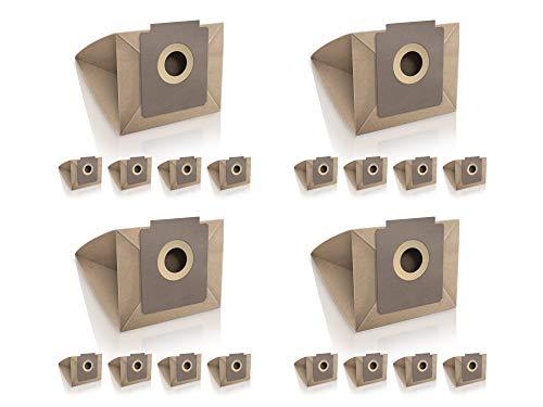 Wessper 20x Bolsas para aspiradora Fagor VCE 140 (Papel)