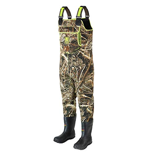 Gator Waders Mens Retro Neoprene Chest Waders with Boots – Waterproof to Keep You Dry and Warm for...