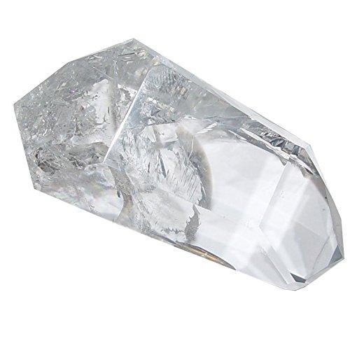 Bergkristall Doppelender schöne klare Spitze mit zwei Enden A*Super Qualität ca. 45 - 55 mm