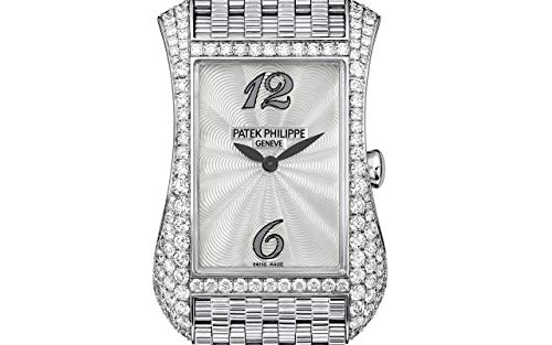 Patek Philippe Gondolo White Gold 4972-1G-001 with Guilloched Mother-of-Pearl dial