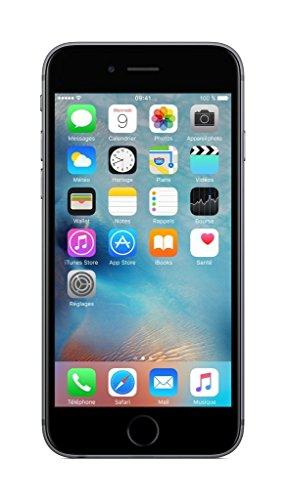 Apple FKQJ2X/A Apple Iphone 6S 16GB Space Gray CPO Enchufe EU Gris (Ricondizionato)