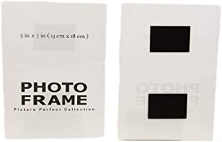 Photo Booth Frames - 5x7 Inch Acrylic Magnetic Photo Frame, Sign Holder Fridge Magnet Picture Frame (10 Pack)
