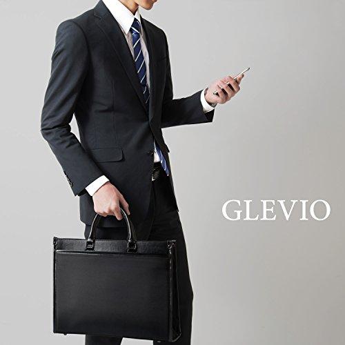 GLEVIO(グレヴィオ)ビジネスバッグメンズブラック2way