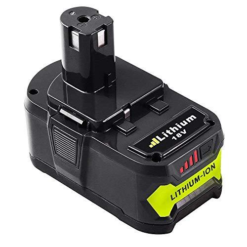 18V 5.5Ah Li-Ion Accu Vervanging voor Ryobi ONE + RB18L50 RB18L40 RB18L25 P108 P107 P122 P104 P105 P102 P103 met LED Indicator