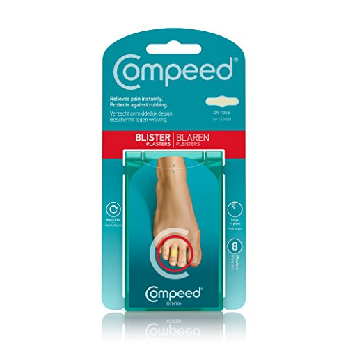 Compeed Blister on Toes Plasters, 8 Plasters