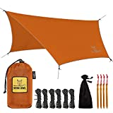 Wise Owl Outfitters Hammock Rain Fly Tent Tarp