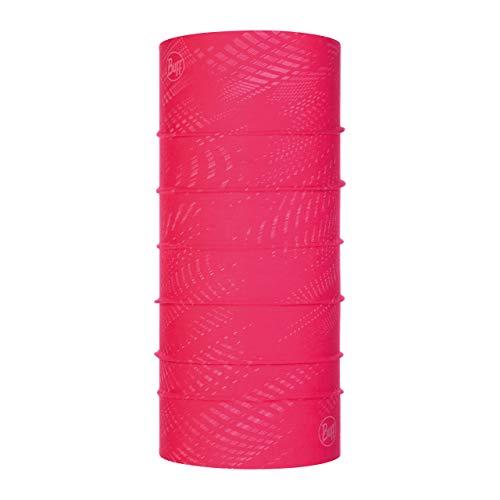 Buff R-Solid Tour de cou réfléchissant Femme Fuchsia FR : Taille Unique (Taille Fabricant : Taille One sizeque)