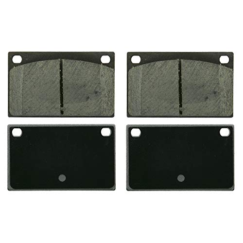 Price comparison product image Wagner PD43A Ceramic Disc Brake Pad Set