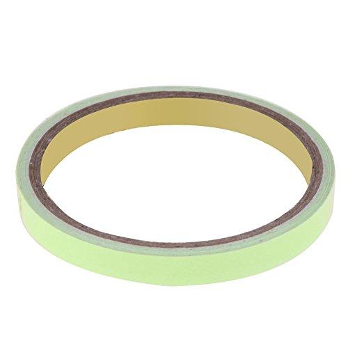 Everpert Reflektorband Klebeband, absperrband Warnklebeband Warnband zum Aufkleben und selbst zuschneiden Nacht Reflektor Streifen Tape (10 mm x 3 m)