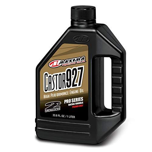 Maxima 23901 Castor 927 2Stroke Premix Racing Oil  1 Liter Bottle
